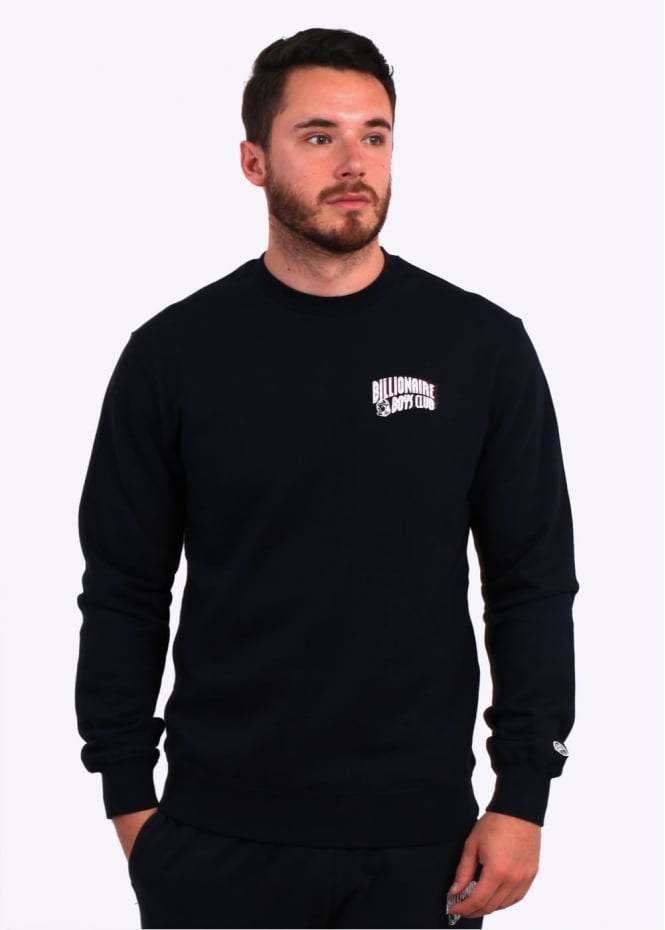 Billionaire Boys Club Small Arch Logo Sweater - Navy