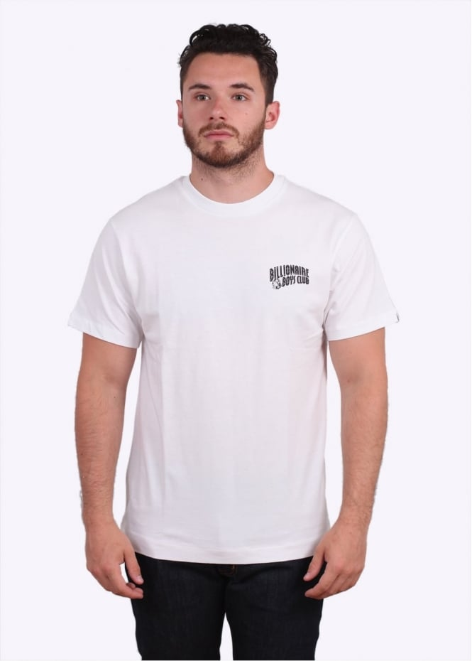 Billionaire Boys Club Small Arch Logo Tee - White