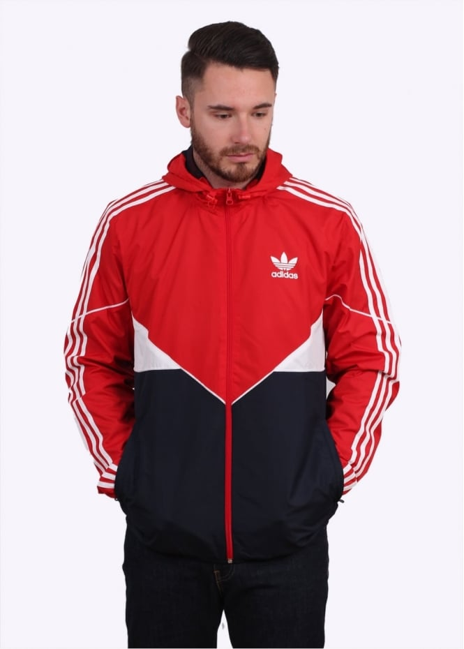 Adidas Originals Apparel CRDO Windbreaker - Vivid Red