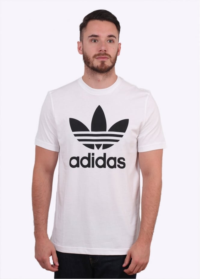 Adidas Originals Apparel Original Trefoil Tee - White