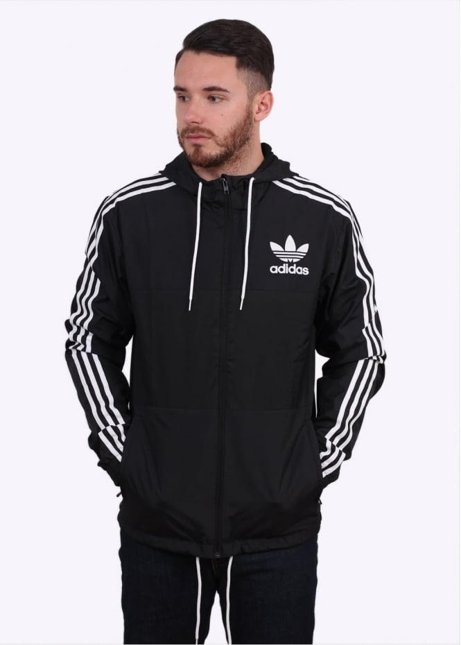 Adidas Originals Apparel CLFN Windbreaker - Black