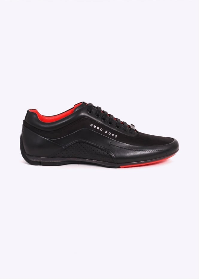 Hugo Boss Footwear HB Racing Trainers - Black
