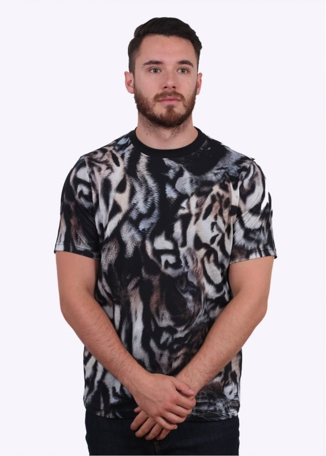 Paul Smith Graphic Tee - Black / Multi