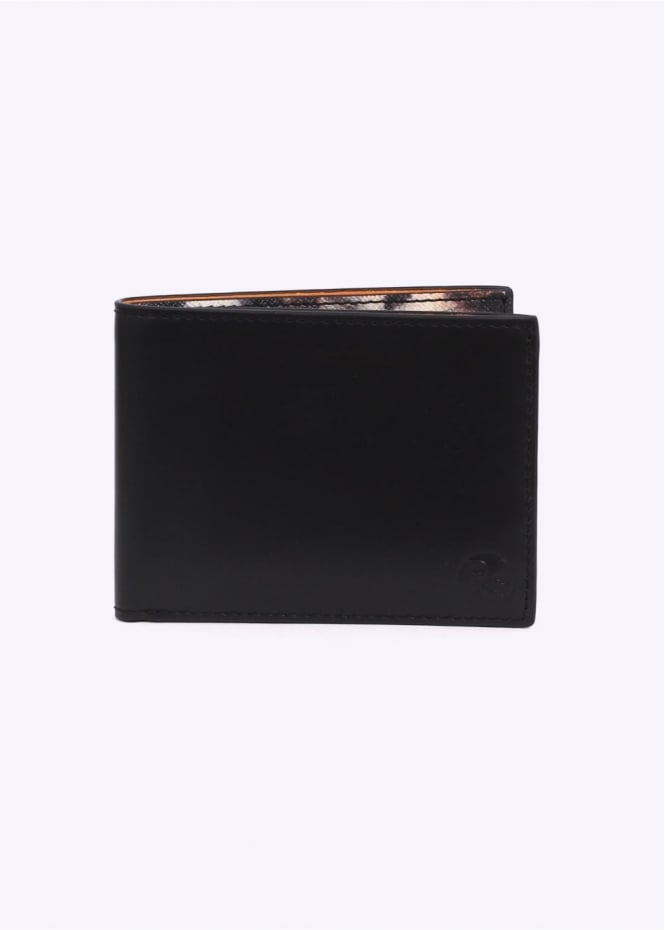 Paul Smith Tiger Print Billfold Wallet - Black / Multi