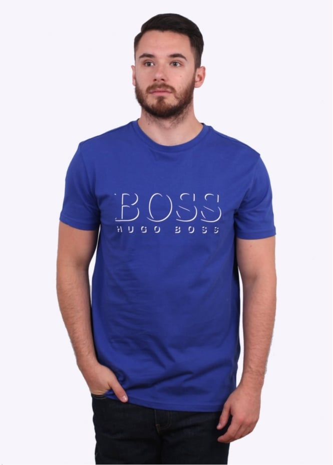 Hugo Boss RN Tee - Medium Blue