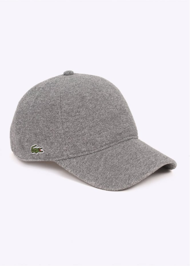 Lacoste Baseball Cap - Light Grey