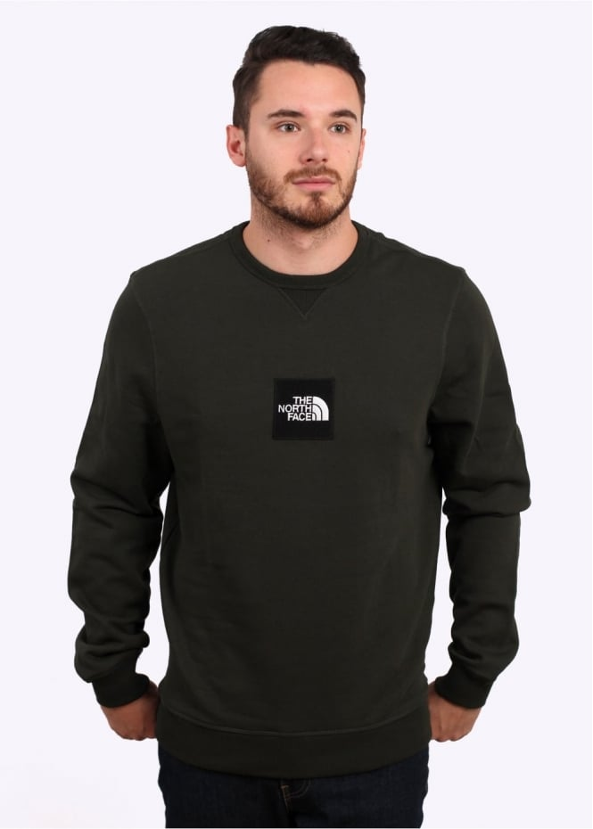 The North Face Fine Crew Sweat - Rosin Green