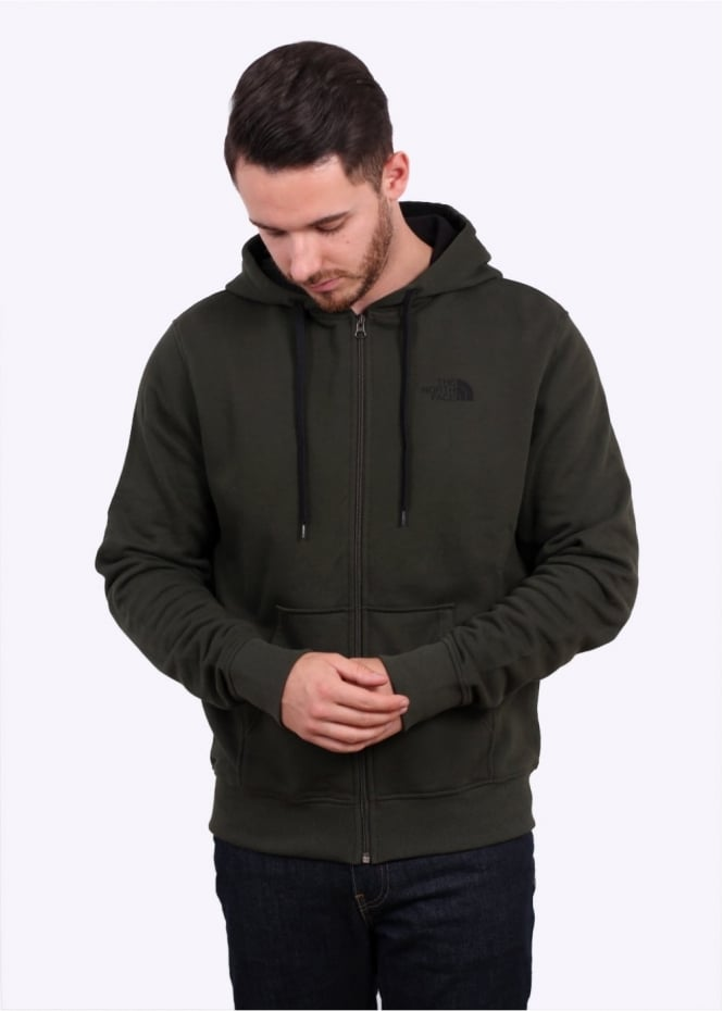 The North Face Open Gate Zip Hoodie - Rosin Green