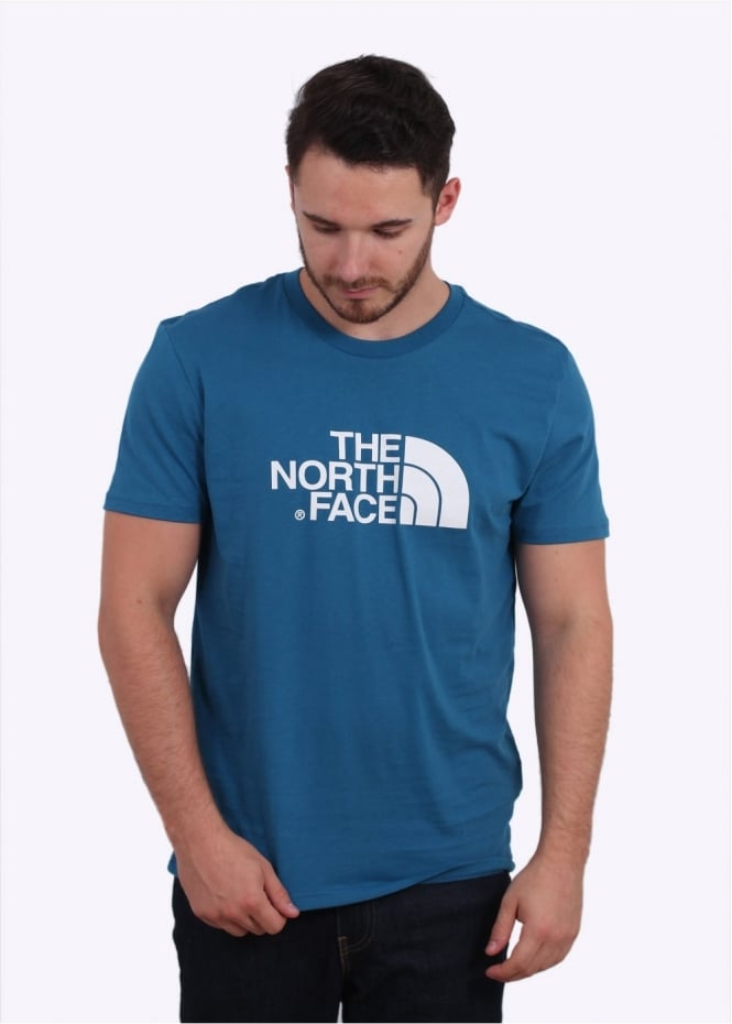 The North Face SS Easy Tee - Banff Blue