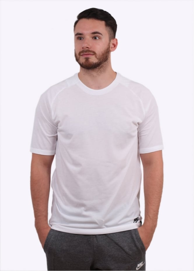 Nike Apparel Bonded Top - White