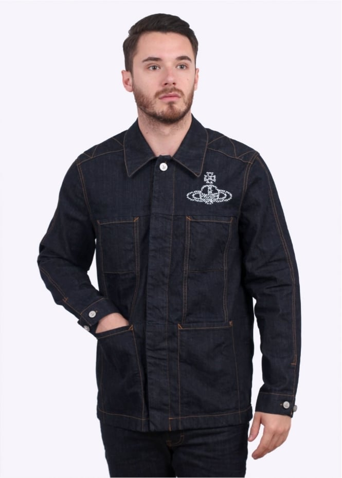 Vivienne Westwood Workers Jacket - Blue Denim