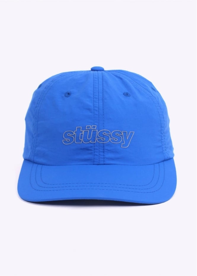 Stussy Nylon Reflective Cap - Royal Blue