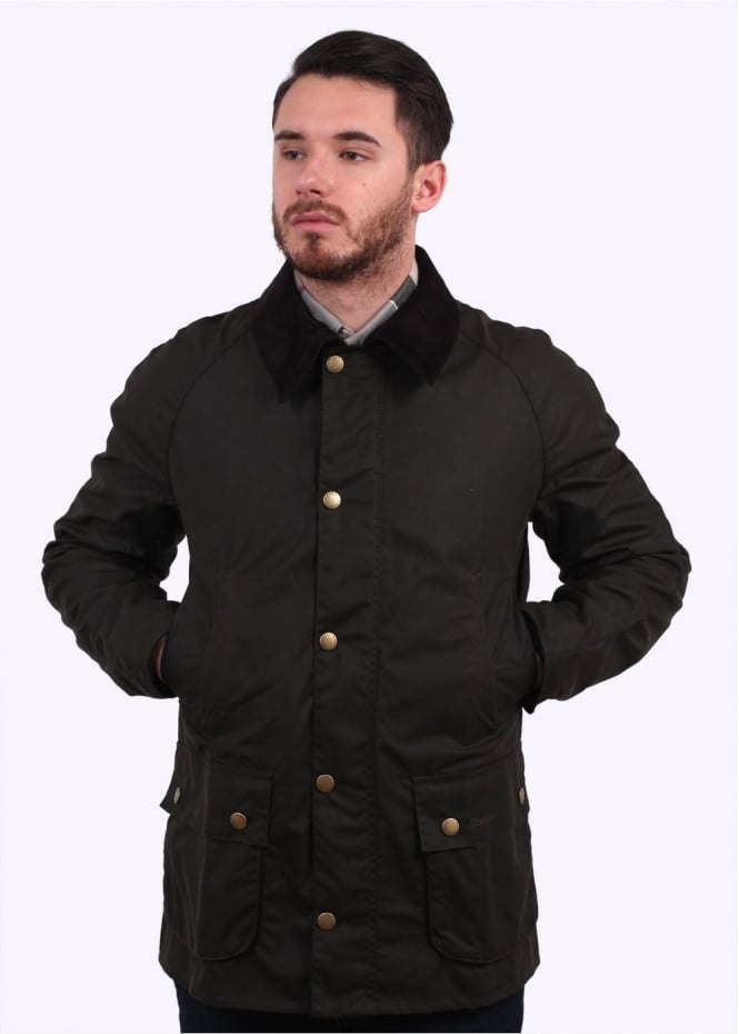 Barbour Bedale Wax Jacket - Sage
