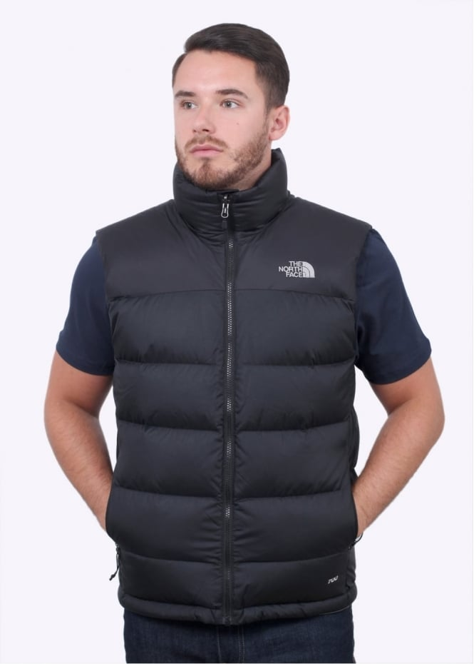 The North Face Nuptse 2 Vest - Black