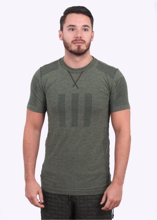 Adidas Originals Apparel Day One Seamless Tee - Green