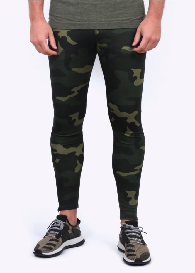 Adidas Originals Apparel Day One Camo Leggings - Camo