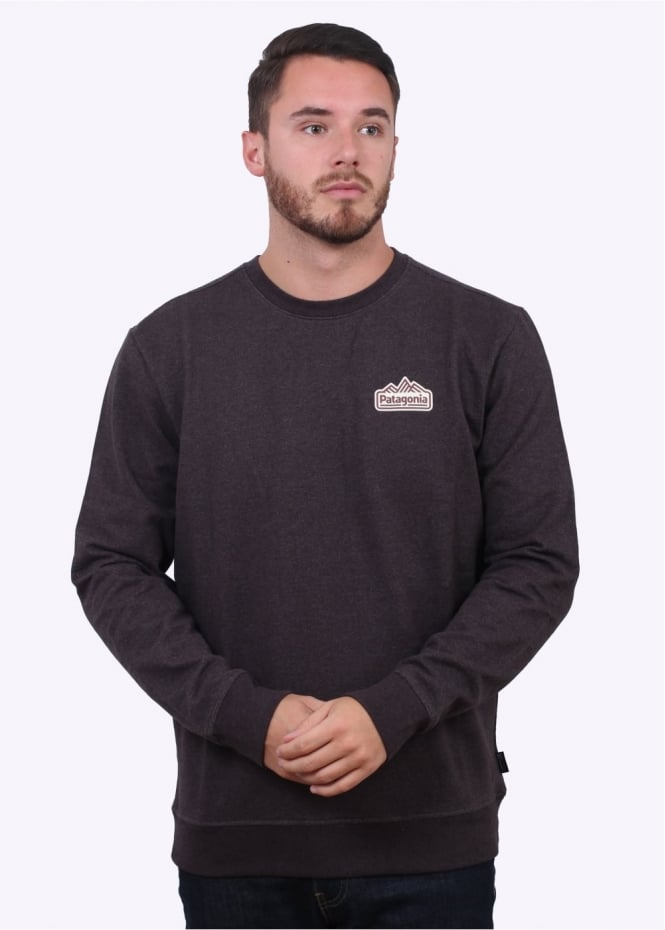 Patagonia Range Station Crew Sweater - Wander Brown