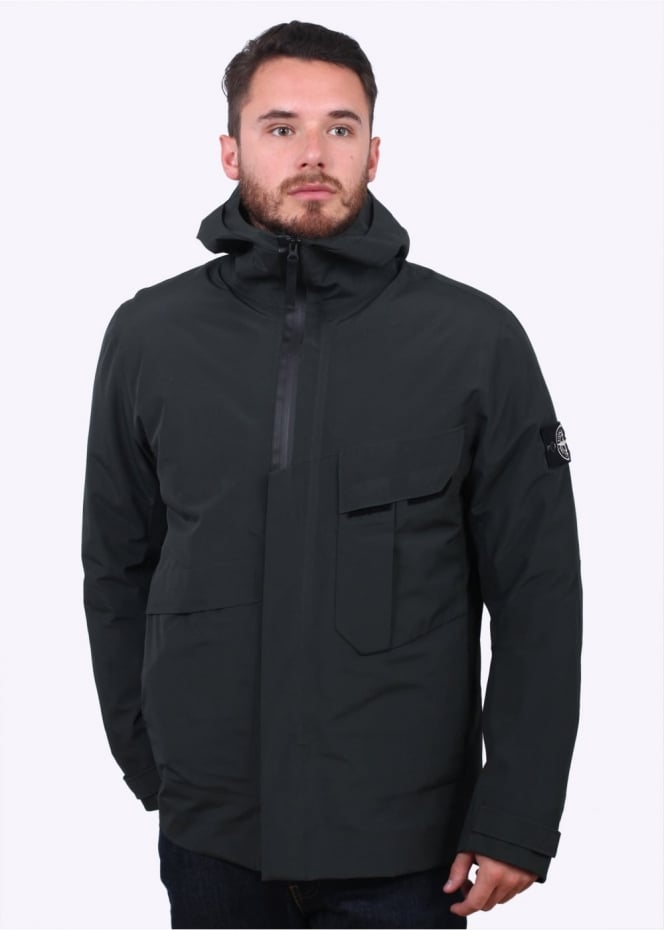Stone Island Tank Shield Jacket - Petrol