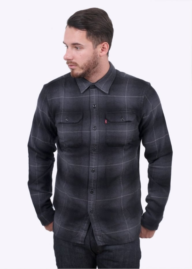 Levi's Red Tab Jackson Worker Shirt - Graphite
