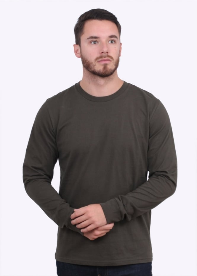 Carhartt Long Sleeve Base T-Shirt - Cypress/Black