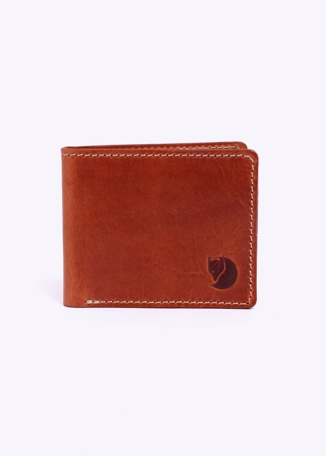 Fjallraven Ovik Wallet - Leather Cognac