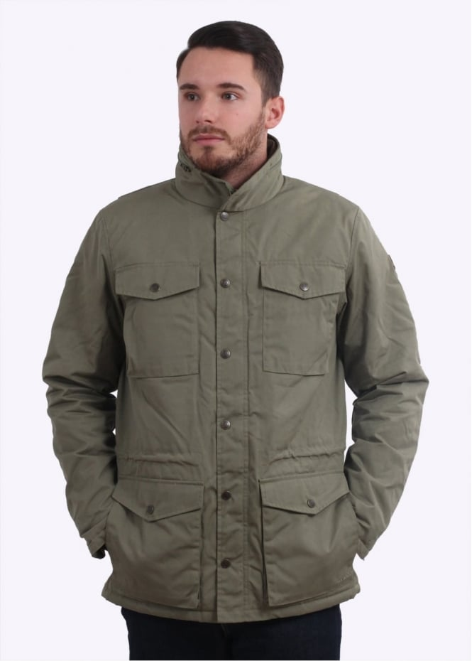 Fjallraven Raven Winter Jacket - Green