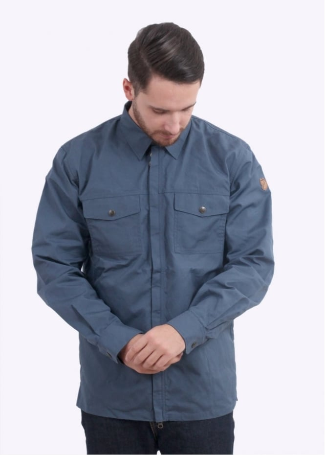 Fjallraven G-1000 Shirt - Uncle Blue