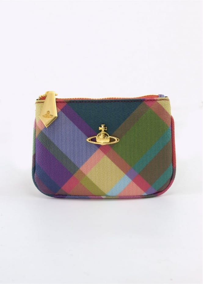 Vivienne Westwood Accessories Derby Purse Harlequin Small