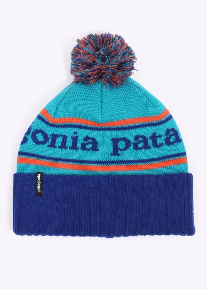 Patagonia Powder Town Beanie - Moon Blue
