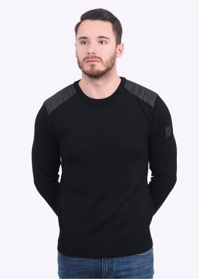 Belstaff Kerrigan Crew Sweater - Black