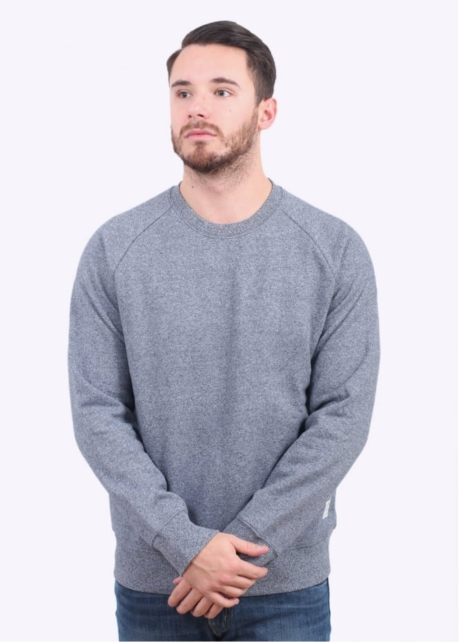 Carhartt Holbrook Sweater - Navy Noise Heather