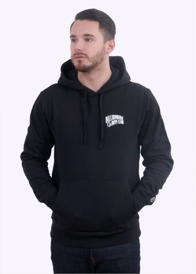 Billionaire Boys Club Small Arch Pop-Over Hoodie - Black