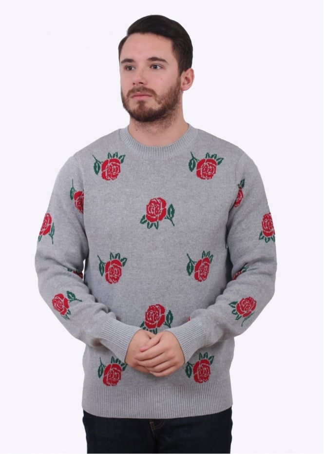 Obey Montrose Sweater - Heather Grey