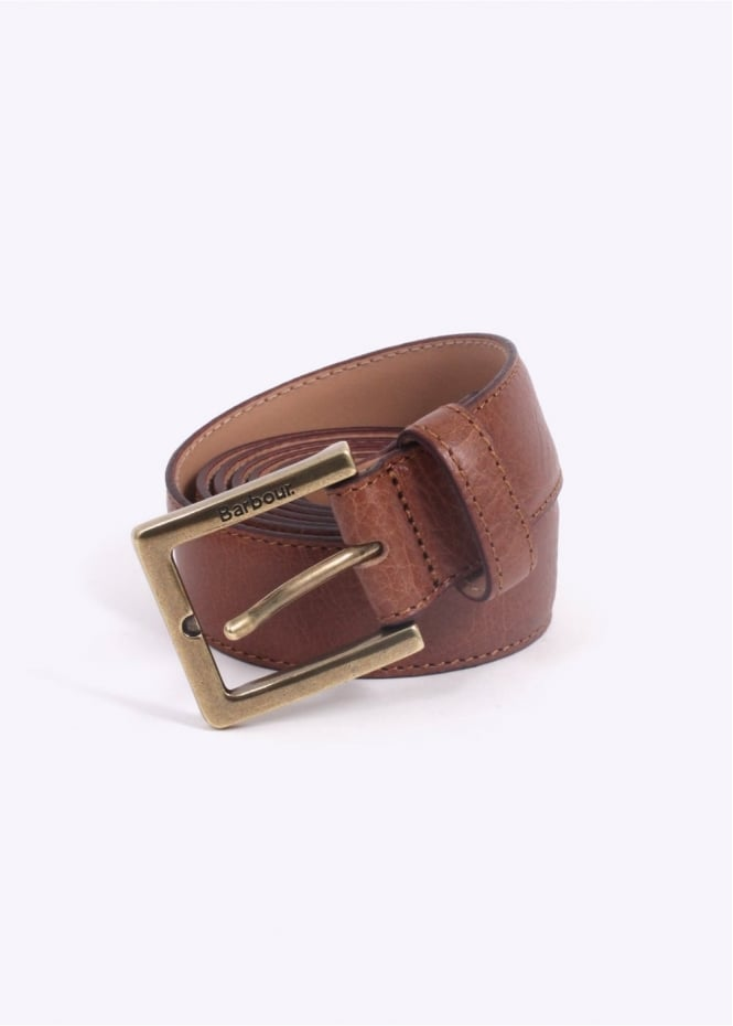 Barbour Country Leather Belt - Tan