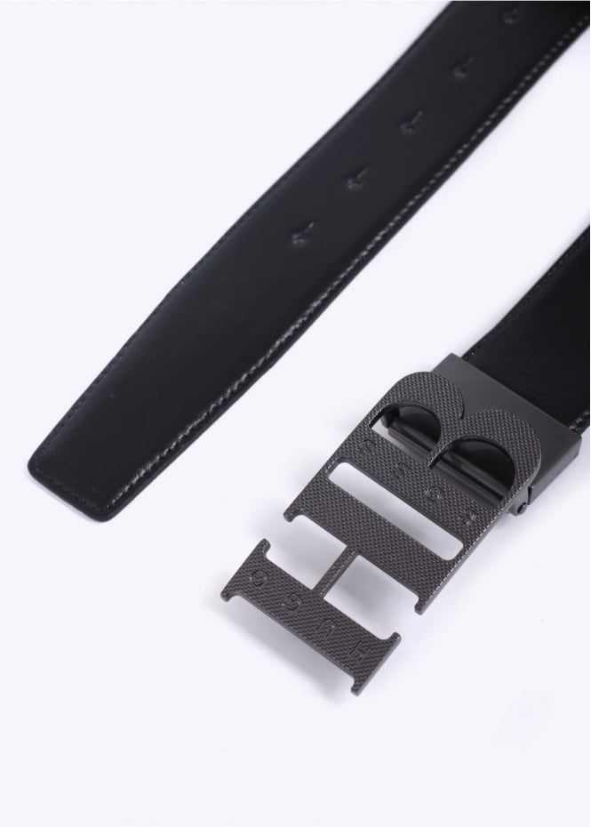 Hugo Boss Accessories Balwinno Belt - Black / White