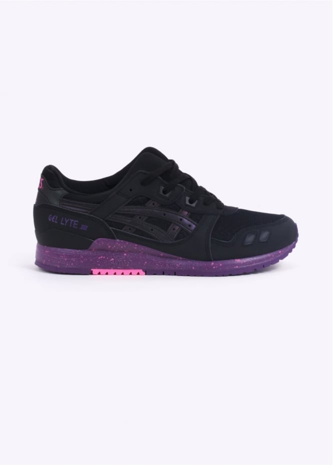 Asics Gel-Lyte III - Borealis Black / Purple