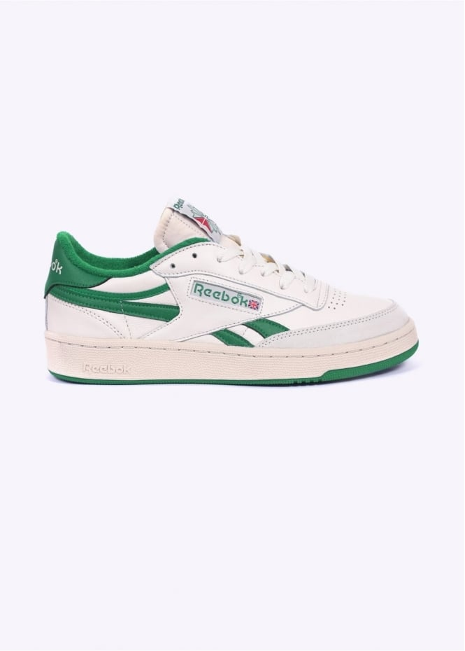 bd689d158908 Reebok Revenge Plus Vintage - Chalk   Green - Trainers from Triads UK