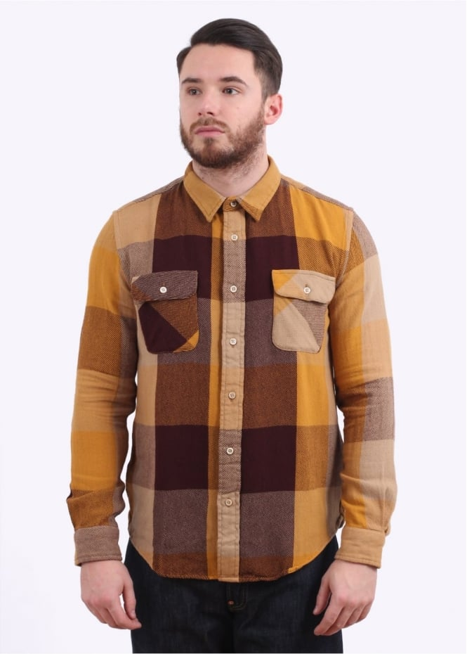 Levi's Vintage Clothing Shorthorn Shirt Check - Yellow