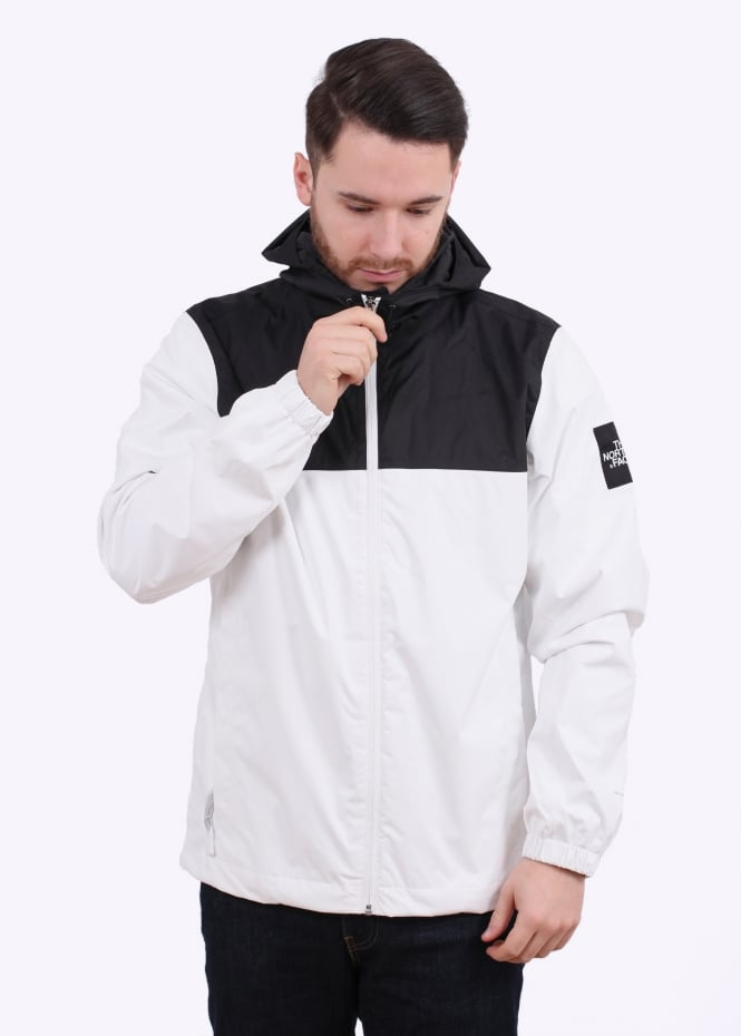 the north face jacket white