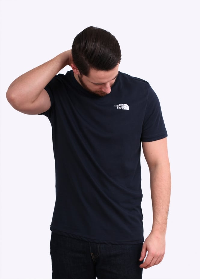 ec4398e1f The North Face SS Simple Dome Tee - Urban Navy