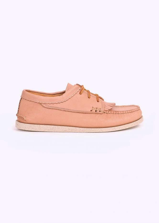 Yuketen Blucher Kiltie Camp Sole - V Tan