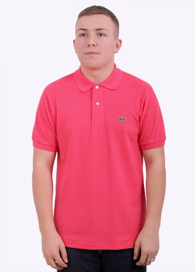 d2b172dd70 Lacoste SS Best Polo - Sirop Pink - Polo Shirts from Triads UK