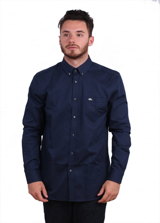Lacoste Pocket Shirt - Boreal Blue
