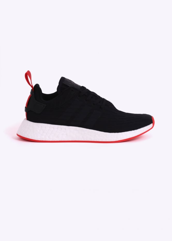 143a6c2f6 adidas Originals Footwear NMD R2 - Black   Red - Triads Mens from ...