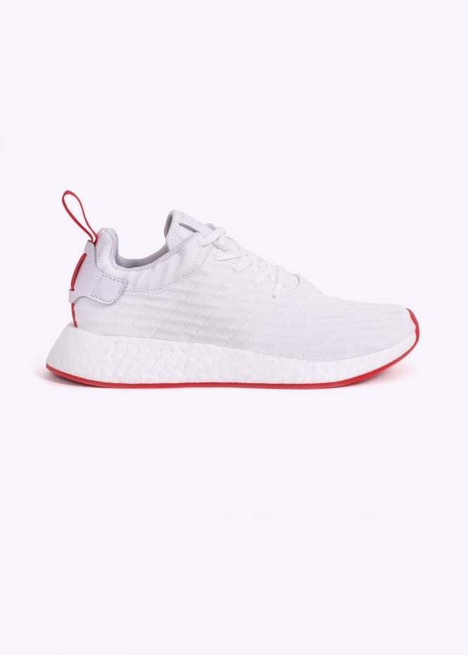 purchase cheap bfe71 73f2b adidas NMD R2 - White / Red