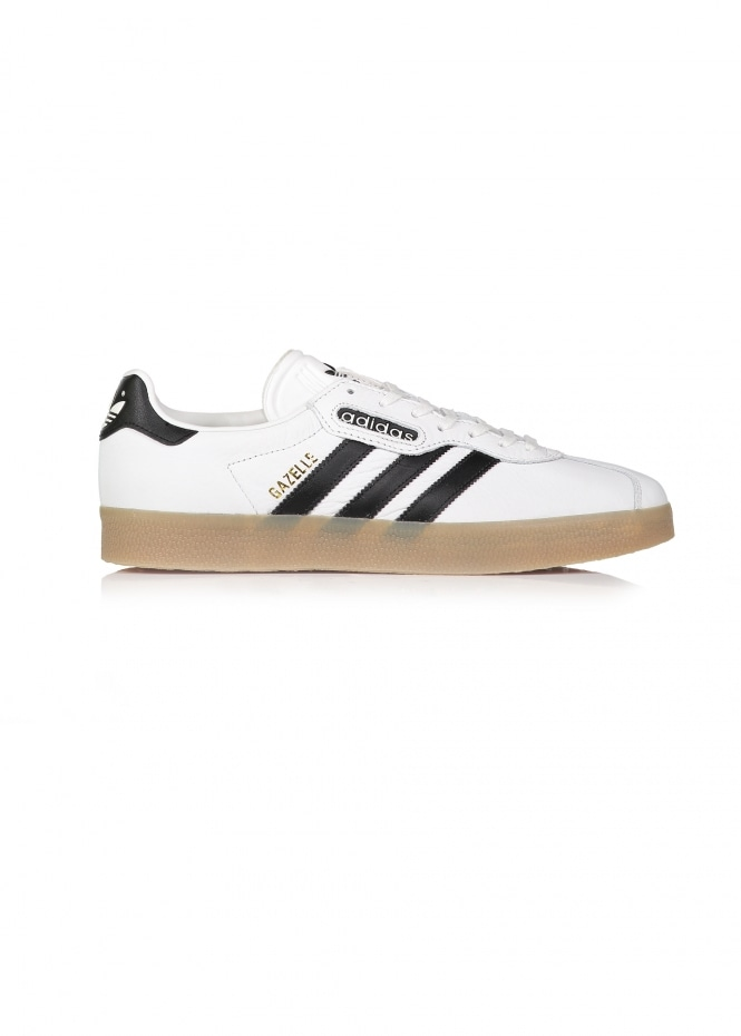 wholesale dealer 7a754 ad522 Gazelle Super - White   Black