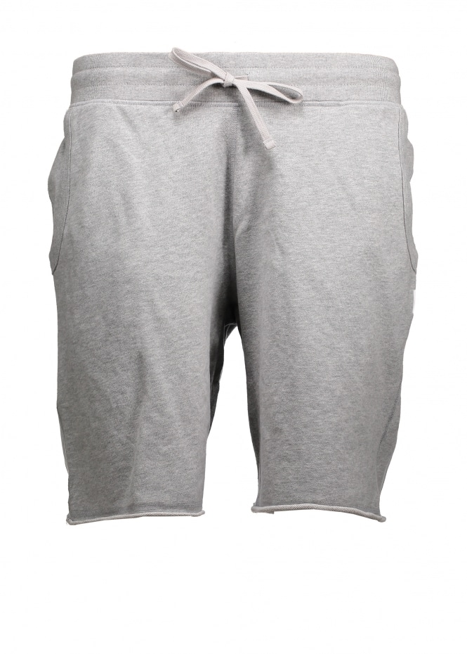 Reigning Champ Raw Edge Sweatshort - Heather Grey