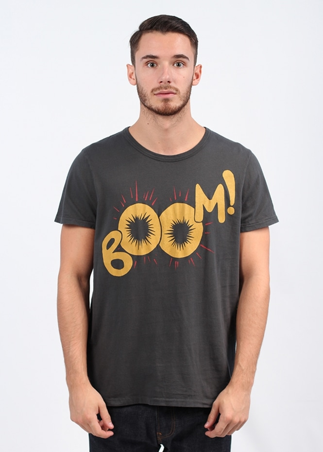 Levi's Vintage Clothing Boom! Graphic Tee - Grey