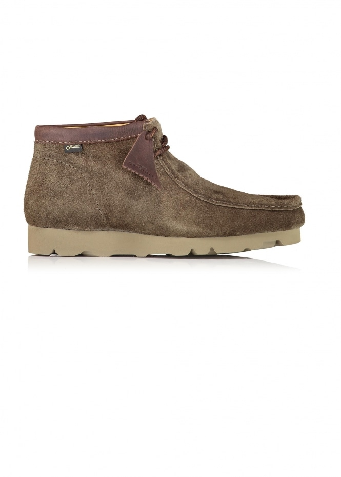 Clarks Originals Wallabee Boot GTX Suede - Peat