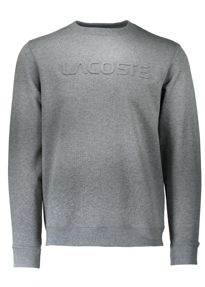Lacoste Lettering Sweat - Galaxite Chine